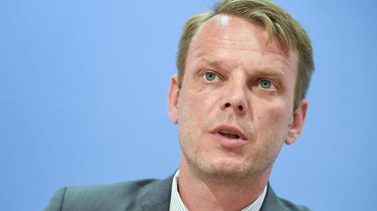 Nikolaus Kramer, Fraktionschef der AfD im Landtag von Mecklenburg-Vorpommern. Foto: Britta Pedersen/zb/dpa