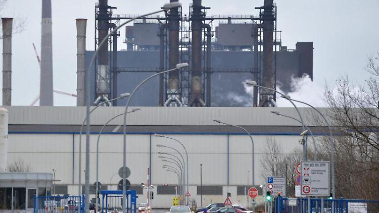 Das Stahlwerk von Arcelor-Mittal in Bremen. Foto: Carmen Jaspersen/dpa/Archivbild