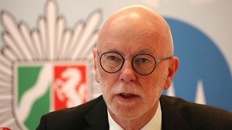 Uwe Jacob, Polizeipräsident von Köln. Foto: Oliver Berg/dpa/Archivbild