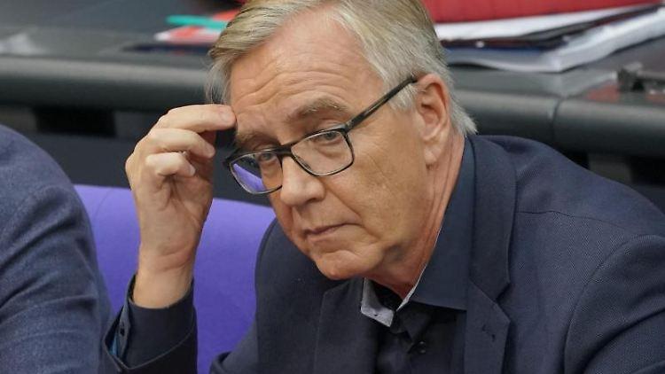 Dietmar Bartsch, Fraktionsvorsitzender von der Partei Die Linke. Foto: Michael Kappeler/dpa