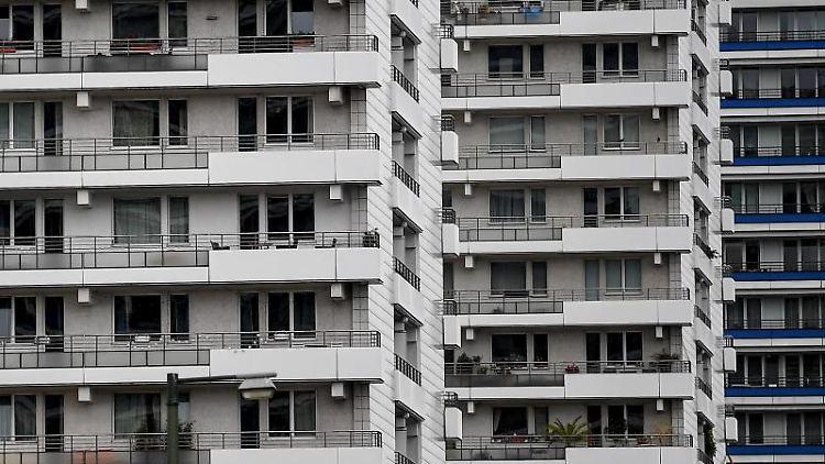 Wohnhäuser in Berlin. Foto: Britta Pedersen
