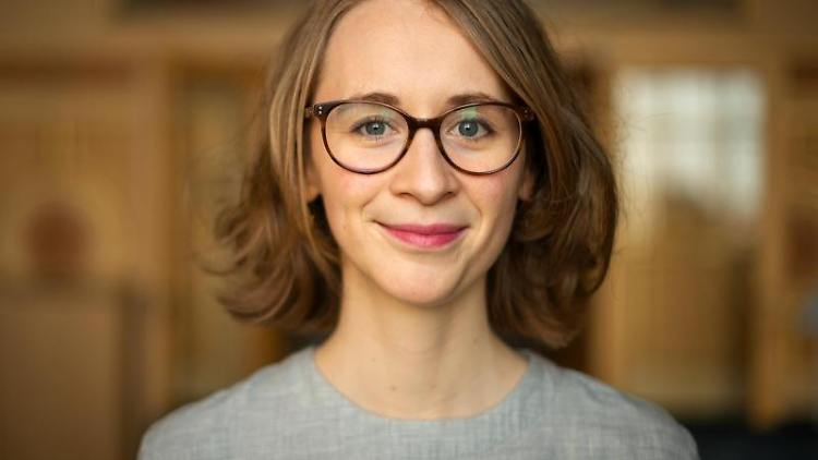 Die Landtagsabgeordnete Eva Lettenbauer (Bündnis 90/Die Grünen). Foto: Sina Schuldt/dpa/Archivbild
