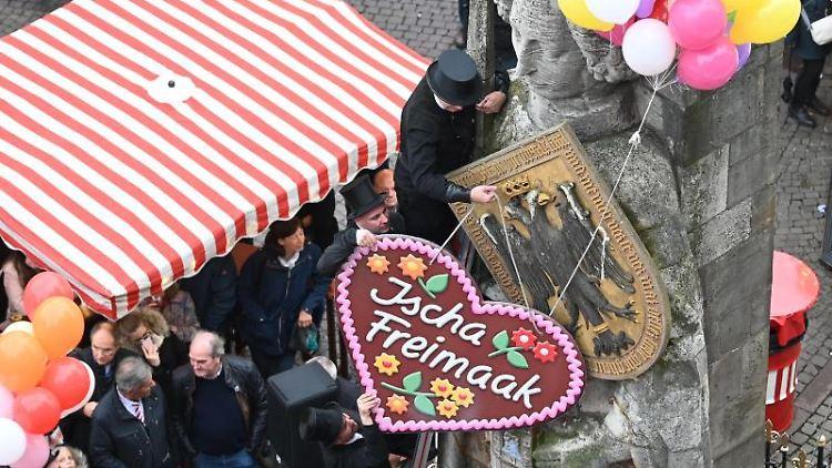 Blick auf den Freimarkt. Foto: Carmen Jaspersen/dpa