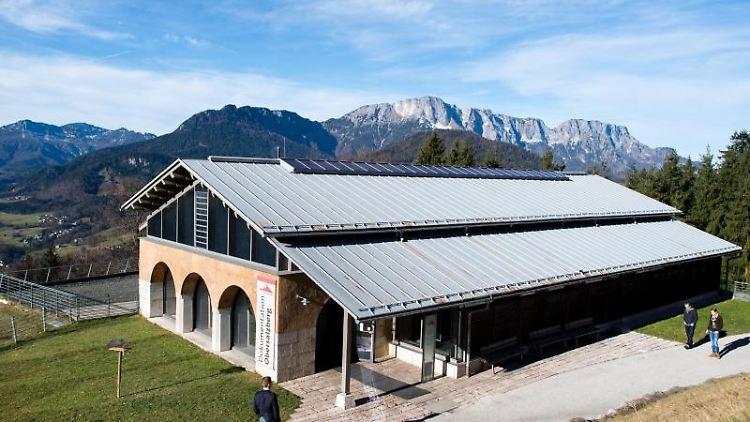 Das NS-Dokumentationszentrum Obersalzberg. Foto: Matthias Balk/dpa