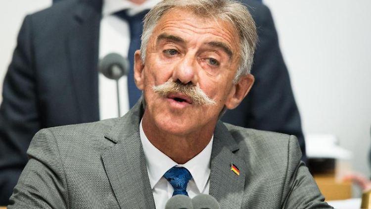AfD-Politiker Uwe Junge. Foto: Andreas Arnold/dpa/Archivbild