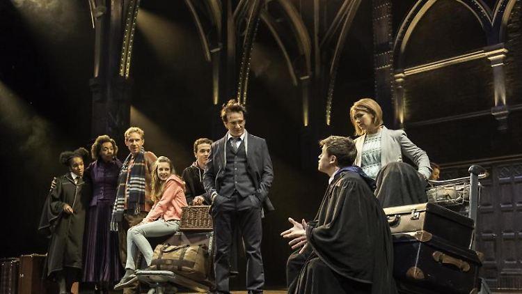 Eine Szene des Theaterstücks