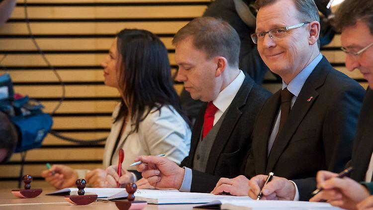 Thüringens CDU-Chef nicht zu Gesprächen mit Ramelow bereit