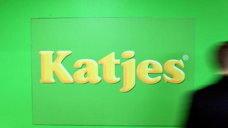 Das Logo des Süßwarenherstellers Katjes. Foto: Ralf Hirschberger/dpa-Zentralbild/dpa/Archivbild