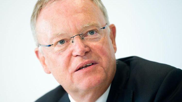 Stephan Weil (SPD), Niedersachsens Ministerpräsident. Foto: Julian Stratenschulte/dpa