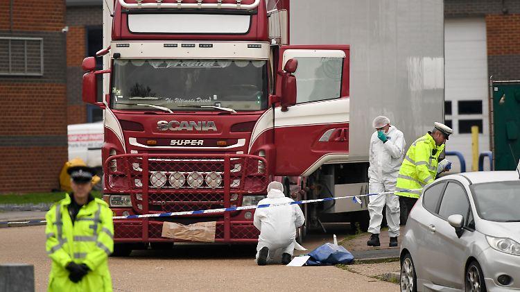 Nach Leichenfund - LKW-Fahrer wegen Totschlags in 39 Fällen angeklagt