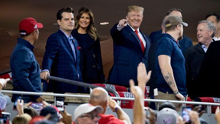 Trump wird bei Baseballspiel ausgebuht