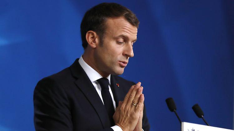 Macron bescheinigt Nato den