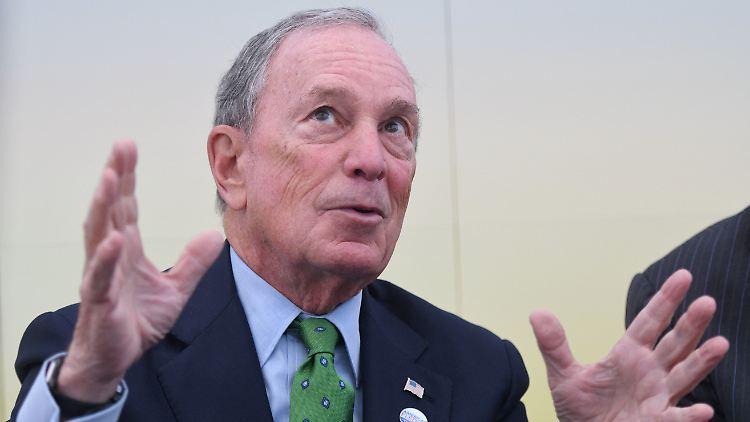 Michael Bloomberg könnte laut US-Medien ins Rennen um die US-Präsidentschaft einsteigen