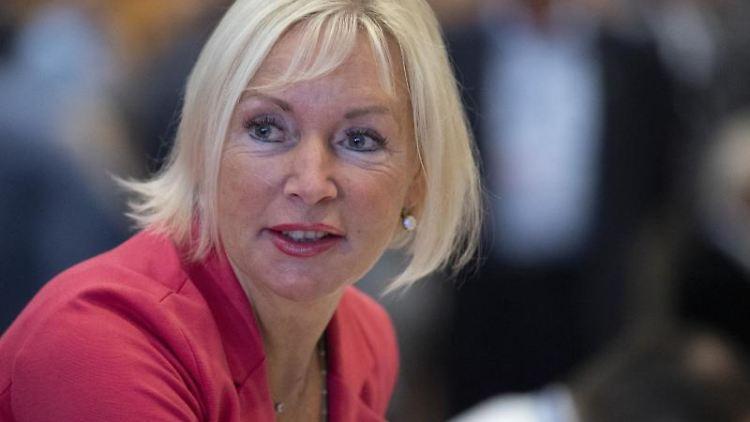 Kristina Sinemus (CDU), hessische Ministerin für Digitale Strategie und Entwicklung. Foto: Boris Roessler/dpa/Archivbild