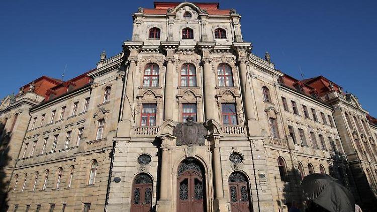 Das Landgericht Bayreuth. Foto: Daniel Karmann/dpa/Archivbild