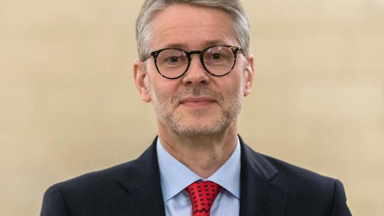 Sebastian Feydt, neuer Superintendent im Kirchenbezirk Leipzig. Foto: Robert Michael/zb/dpa/Archivbild