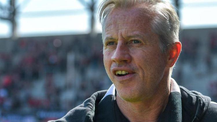 Der neue Trainer von Nürnberg, Jens Keller. Foto: Armin Weigel/dpa/Archivbild