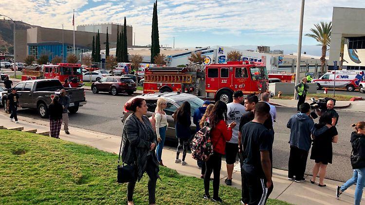 Schüsse und Verletzte: Amok-Lauf an US-Schule