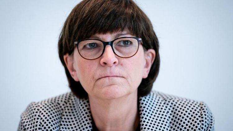 Saskia Esken, Bewerberin für den SPD-Vorsitz. Foto: Kay Nietfeld/dpa/Archivbild