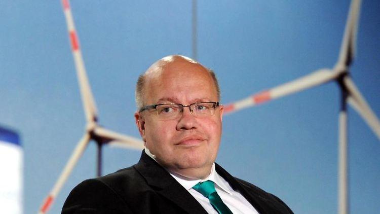 Bundeswirtschaftsminister Peter Altmaier (CDU). Foto: Carsten Rehder/dpa/Archivbild