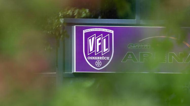 Das Logo vom VfL Osnabrück. Foto: Friso Gentsch/dpa/Archivbild