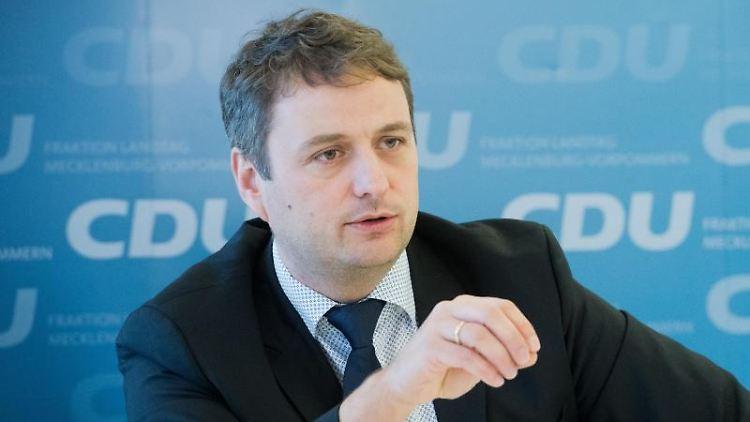 CDU-Politiker Vincent Kokert. Foto: Stefan Sauer/zb/dpa/Archivbild