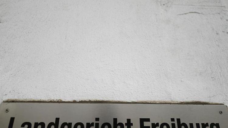 Landgericht Freiburg. Foto: Patrick Seeger/dpa/Archivbild