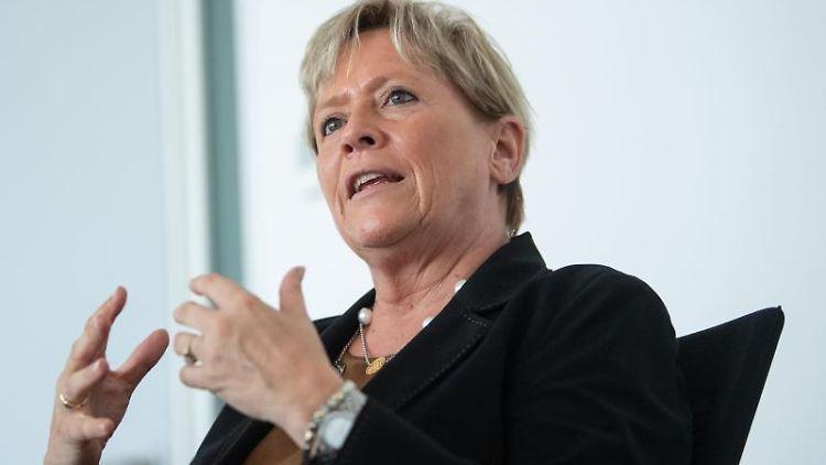 Susanne Eisenmann (CDU), Ministerin für Kultus, Jugend und Sport Baden-Württemberg. Foto: Marijan Murat/dpa/Archivbild