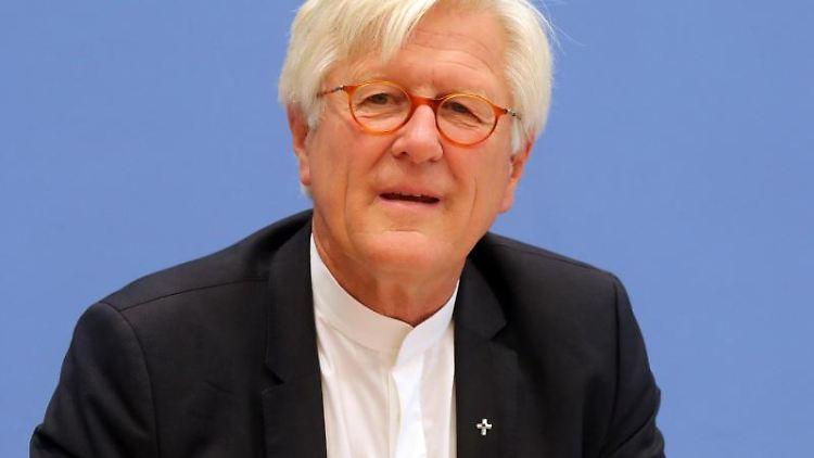 Heinrich Bedford-Strohm, Vorsitzender des Rates der Evangelischen Kirche in Deutschland. Foto: Wolfgang Kumm/dpa/Archivbild