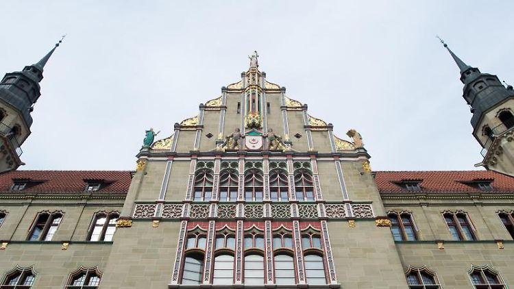 Die Außenansicht des Landgerichts Halle. Foto: Klaus-Dietmar Gabbert/zb/dpa
