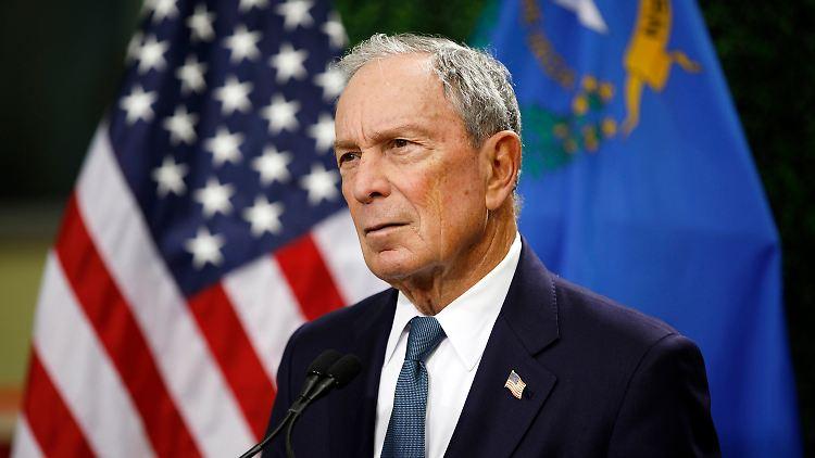 US-Präsidentschaftswahl - Bloomberg fordert Trump heraus
