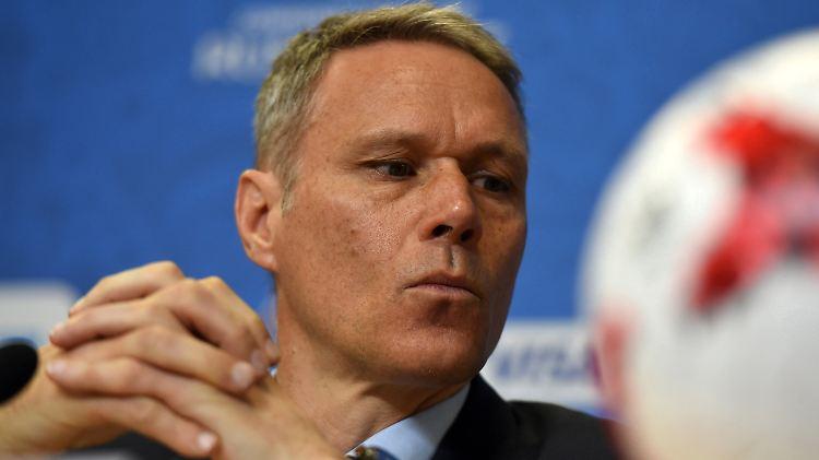 Entgleisung im Fernsehen: Van Basten entschuldigt sich nach