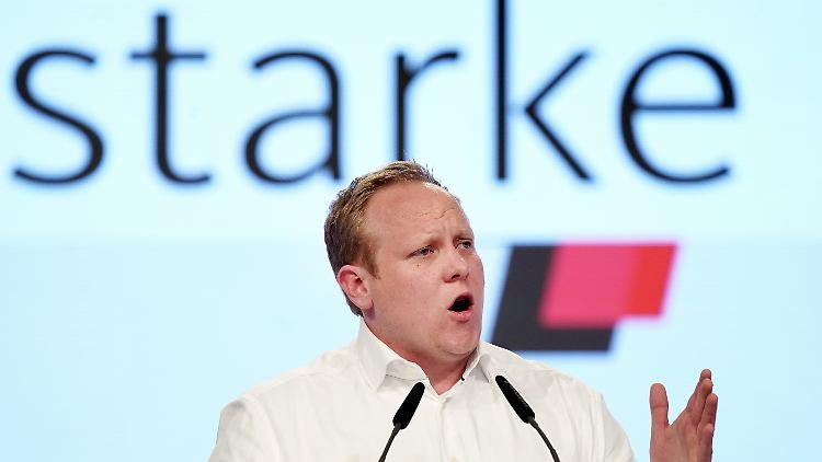 Forderte auf dem Parteitag einen Neustart für die CDU: Junge Union-Chef Tilman Kuban