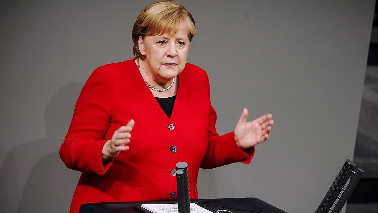 Deutschland: Merkel: Deutschland muss mehr Nato-Verantwortung übernehmen