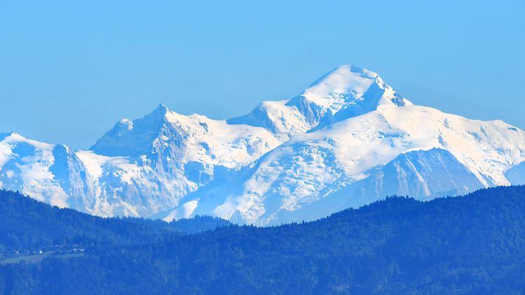 Mont Blanc: Lawine tötet zwei Skifahrer