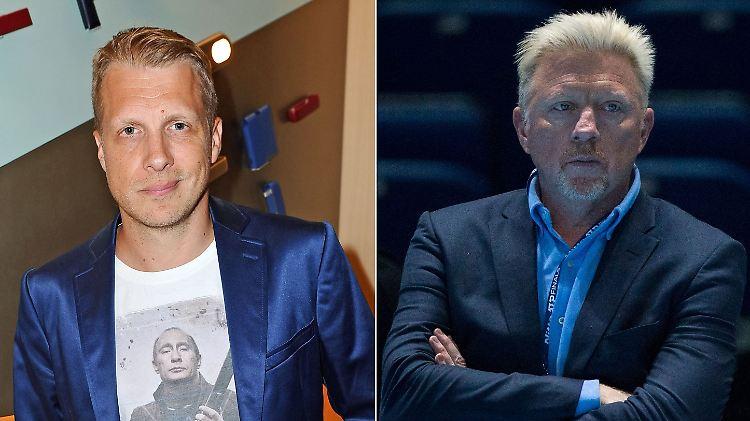 Boris Becker erwirkt einstweilige Verfügung gegen Oliver Pocher