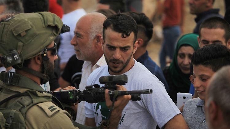 Rund um Hebron kommt es immer wieder zu Konflikten zwischen Palästinensern und dem israelischen Militär.