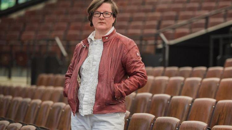 Birgit Simmler wird bis 2027 die künstlerische Leitung der Luisenburg-Festspiele übernehmen. Foto: Nicolas Armer/dpa/Archivbild