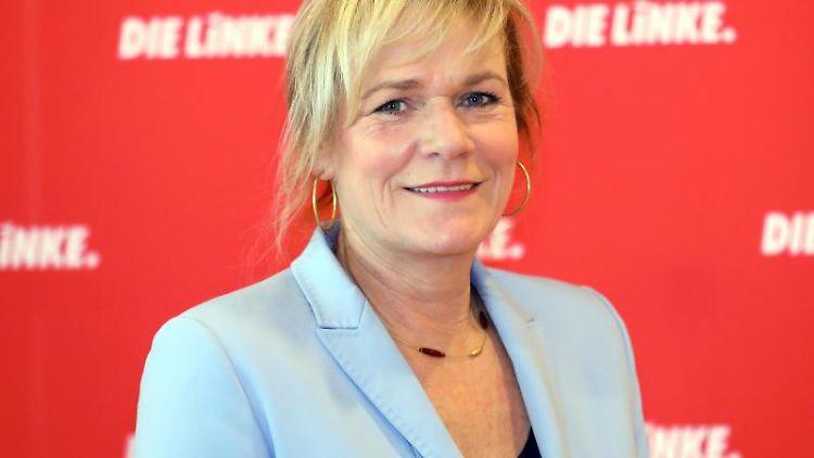 Simone Oldenburg, Fraktionsvorsitzende der Linken. Foto: Bernd Wüstneck/zb/dpa/Archivbild