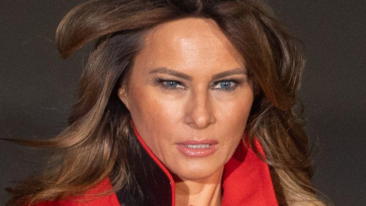 Melania Verteidigt Barron Trump Wortspiel Mit Ihrem Sohn Emport First Lady N Tv De