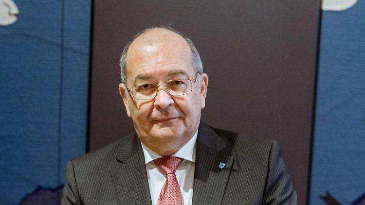 Heinz Maurus (CDU), Kreispräsident des Kreises Nordfriesland. Foto: Markus Scholz/dpa/Archivbild