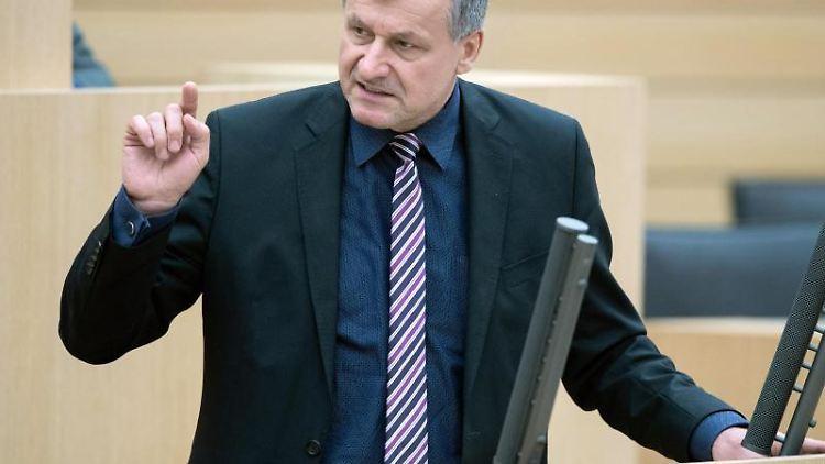 Hans-Ulrich Rülke spricht im Landtag von Baden-Württemberg. Foto: Tom Weller/dpa