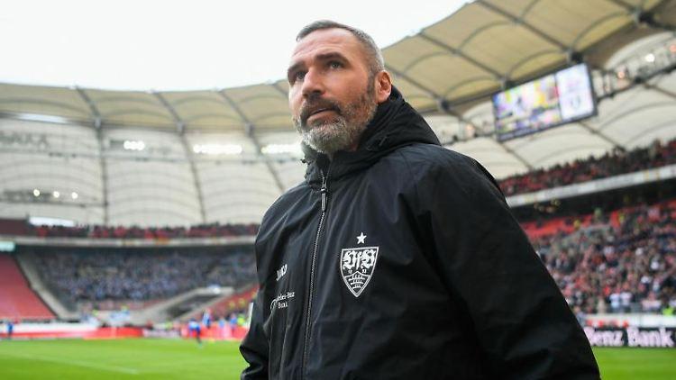 Stuttgarts Trainer Tim Walter. Foto: Tom Weller/dpa/Archivbild