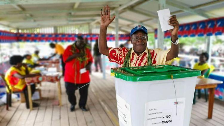 Frühere deutsche Kolonie Bougainville entscheidet sich für Unabhängigkeit