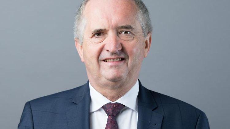 Thomas Schmidt (CDU), sächsischer Landwirtschaftsminister. Foto: Sebastian Kahnert/zb/dpa/Archivbild