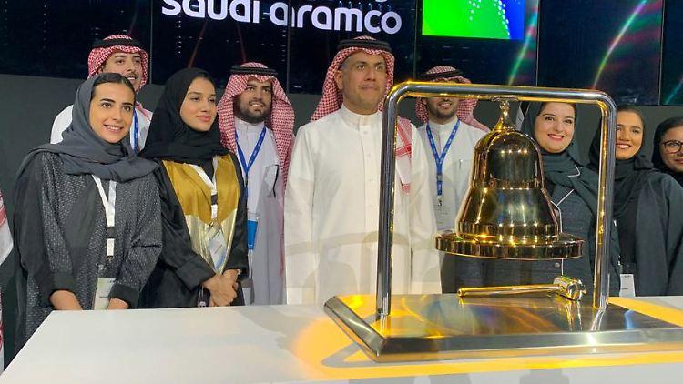 Saudi Aramco hatte am Mittwoch den größten Börsengang aller Zeiten über die Bühne gebracht