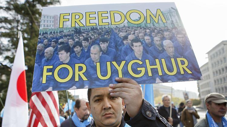 China Uiguren Lager