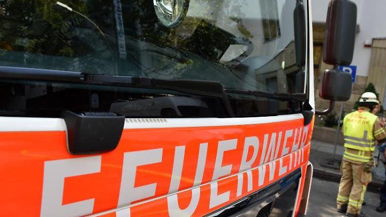 Einsatzfahrzeug der Feuerwehr. Foto: Jens Kalaene/dpa-Zentralbild/dpa/Symbolbild