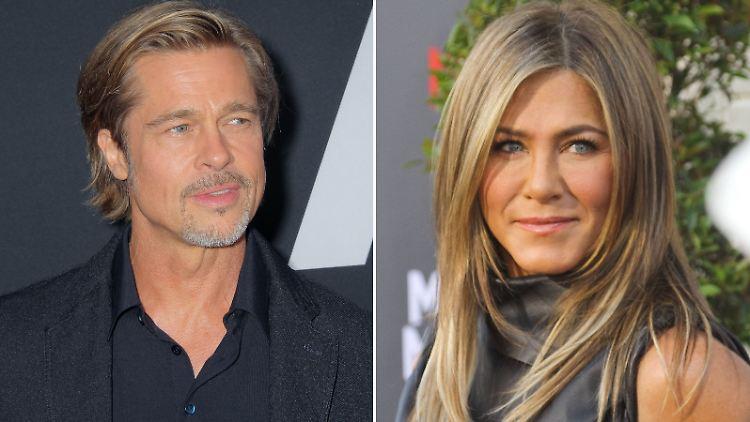 Jennifer Aniston: Brad Pitt besuchte ihre Weihnachtsparty
