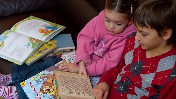 Eltern sollen ihren Kindern so früh wie möglich vorlesen.